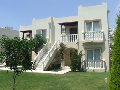 Photo for Fantastic 2 Bedroom / 2 Bathroom Ground Floor Apartment close to Milas Airport