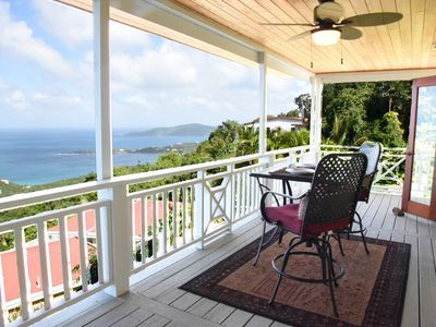 Photo for Charming Caribbean Cottage With Panoramic Ocean Views