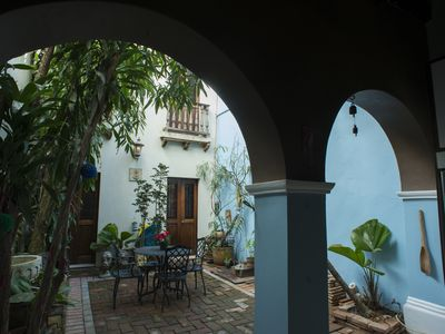 Photo for Quaint Colonial Home in Old San Juan-OPEN