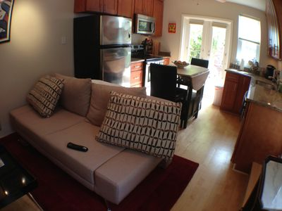 Photo for Stunning Cottage, Step-Out Garden, W/D, Hot tub, Transportation