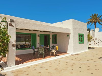Photo for Detached villa with communal swimming pool located in the north of Lanzarote