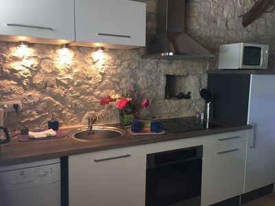Photo for bed and breakfast stone quercy decorated with taste. Very nice view
