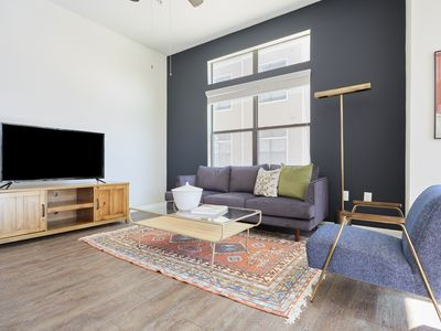Photo for Sonder | Haven at Main | Pleasant 2BR + Pool