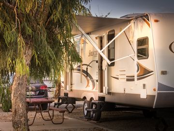RV Rental At River Resort Standard Section. Ask About Pet Friendly Units!