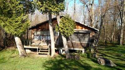 Photo for 2 Bed 1 Bath Pet Friendly Right On Lake Champlain