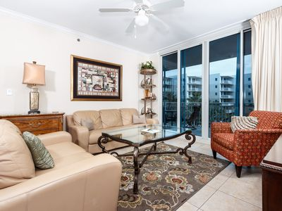 Photo for Waterscape B310: Beautiful 2bed/2.5 bath, beach view, lazy river, free movies