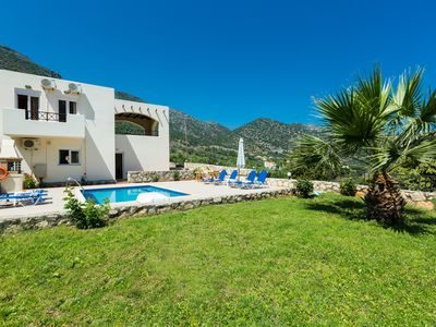 Photo for VILLA KOSTIS WITH PRIVATE POOL AND SEAVIEW