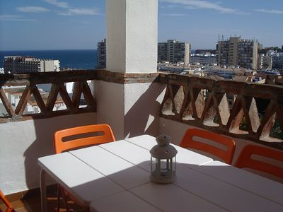 Photo for SUPERB APART. 3 BEDROOMS WITH SEA AND MOUNTAIN, NEAR THE BEACH