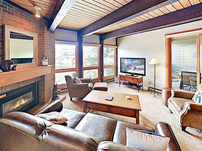Photo for New Listing! Steamboat Ski Retreat w/ Pool & Hot Tubs, Gas Fireplace, Balcony