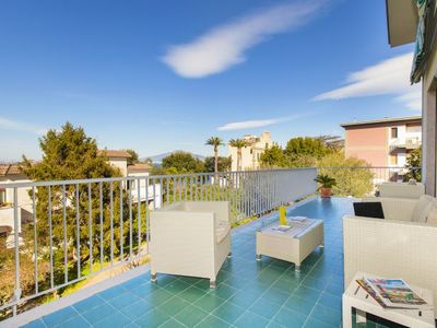 Photo for 3 bedroom Apartment, sleeps 5 with Air Con, FREE WiFi and Walk to Beach & Shops