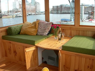 Photo for Cozy and romantic apartment in captain's steering cabin