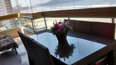 Photo for 4BR Apartment Vacation Rental in Praia Grande, SP