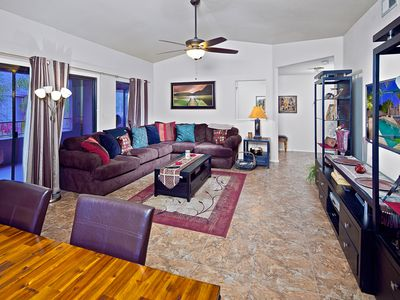 Photo for Unbeatable Location, Relaxing Heated Pool, Hot Tub, Tennis Courts Nearby, More
