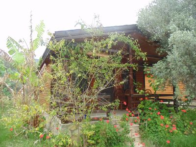 Photo for Datça, wooden Chalets few steps from the Sea!