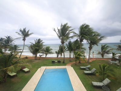 Photo for Ocean Front 2nd floor Villa, Infinity pool, near Palmas del Mar