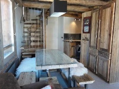 Photo for Avoriaz- stunning boutique apartment mind old cottage
