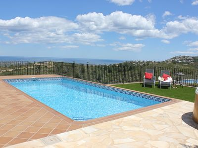 Photo for Villa apartment,2 bedroom, sleeps 4 Private pool,Hot tub,Free WiFi,epic views