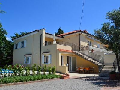 Photo for Holiday apartment with pool use and air conditioning