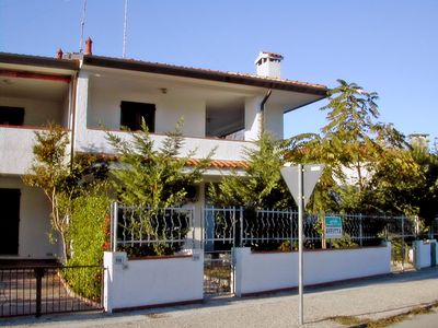 Photo for First floor house with large terrace, garden, 250 mt. from the beach