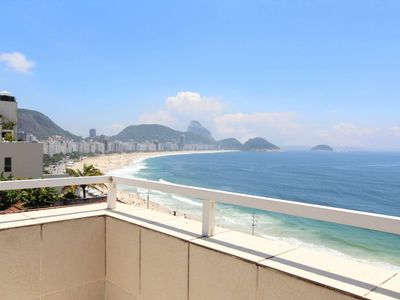 Photo for CaviRio - Penthouse with private pool - Copacabana (F27)