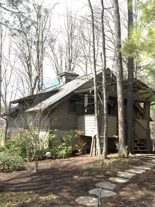 Photo for Quiet forest setting, minutes to Asheville/Biltmore,  ALL 5 STAR reviews