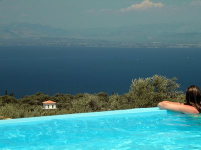 Photo for Jasmine Apartment,Red Villa of Villa Erato hotel with mountain and sea view