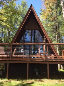 Photo for A-Frame Chalet on the Eagle River Chain of Lakes