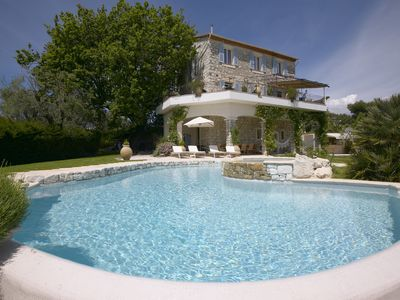 Photo for Stone-built, recently renovated Bastide, with private pool.