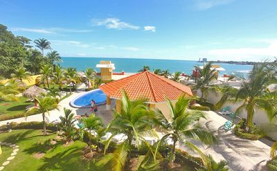 Photo for Beachfront Condo-Beautiful Ocean /Mountain Views-Perfect For Couples Or Families