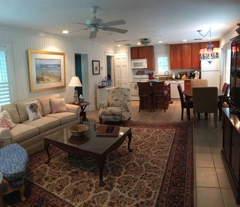 Photo for Naples Historic Home - 1 Bedroom Guest House-steps from beach, quiet setting