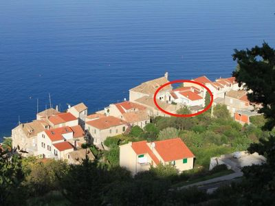 Photo for Apartment in Vis (Vis), capacity 2+2