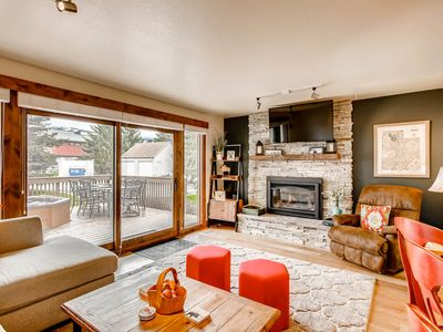 Photo for Cheery townhome in Park City w/ a large, furnished deck & private hot tub!