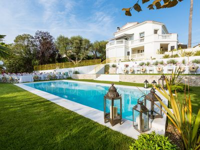 "Photo for Beautiful renovated South-West Facing ""Art Deco"" Villa on Cap d'Antibes"