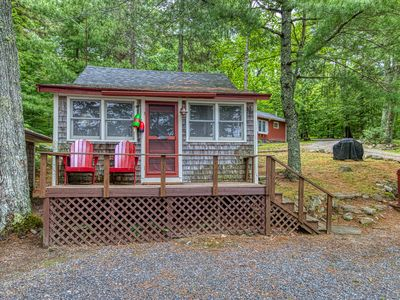 Photo for NEW LISTING! Waterfront shingled cottage w/ shared boat dock - near Acadia!