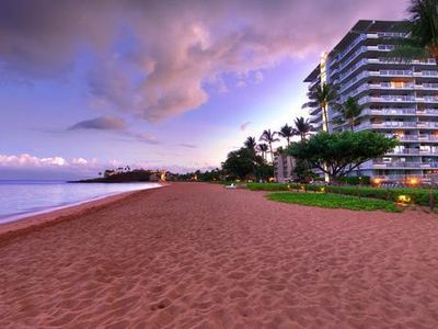 Photo for Kaanapali Beach Condo with 2 Bathrooms, Private Lanai & Resort Beachfront Pool