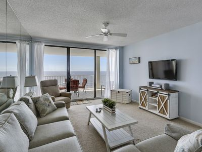 Photo for Welcome to Paradise - Beach Front Balcony Views of Gulf of Mexico - My Beach Getaways