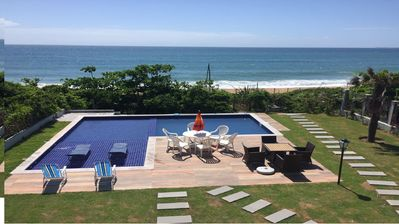 Photo for MANSÃO FRONT SEA FOOT IN THE SAND WITH POOL FOR 16 PEOPLE IN BAL. CAMBORIÚ