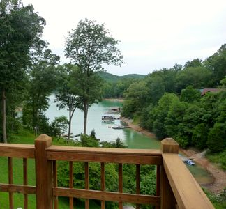 Photo for Deerfield Resort/Lake Front Property in quiet cove with shared docks-4 per slip