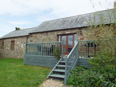 Photo for THE BYRE, pet friendly, character holiday cottage in Milton, Ref 3738