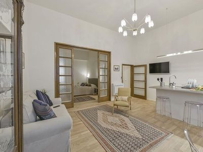 Photo for Saponai apartment in Duomo with WiFi, integrated air conditioning & balcony.