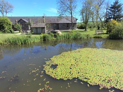 Photo for Hawthorn-luxury 4 bed cottage- great views, indoor pool hot tub, gym, fishing.