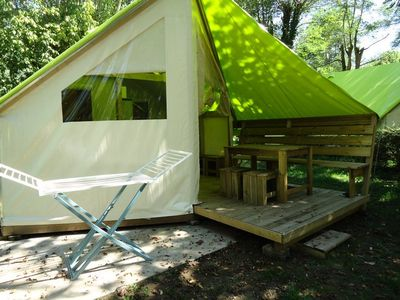 Photo for Camping Rock of Granelle *** - Junior Tent 3 Rooms 4 Persons