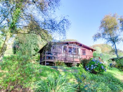 Photo for This detached timber lodge, along with others, sits in award winning grounds of 130 acres of spaciou