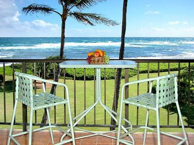 Beachfront with View of Beautiful Coastline along Kauai's Royal Coconut Coast