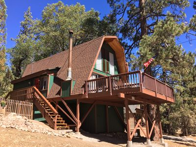 Photo for Forest getaway in Fawnskin, the quiet side of Big Bear
