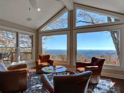 Photo for Amazing Views to SC and GA From This Newly Renovated 5bd/4.5ba Mountain Home