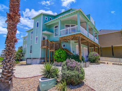 Photo for Southern Comfort, 5 bedroom home at Sand Point in Port Aransas.