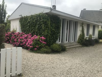 Photo for Family house in Cabourg very quiet and well located