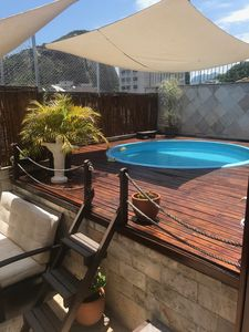Photo for Atypical Duplex Apartment, equipped and pleasant, Swimming pool and barbecue