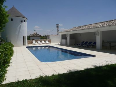 Photo for CHARMING HOUSE, UNUSUAL, COMFORT, CALM INSURED, SWIMMING POOL, 20 BEDS, TOLEDO